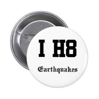 earthquakes pins