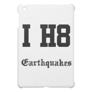 earthquakes iPad mini case