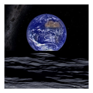 Earthrise 2016 Milky Way Poster Wall Art
