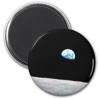 Earthrise 2 Inch Round Magnet