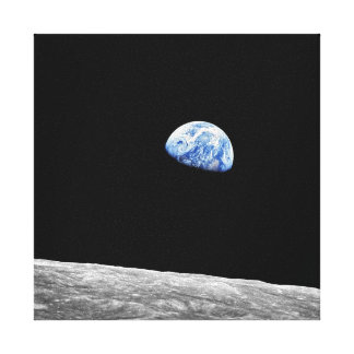 Earthrise - Apollo 8 Gallery Wrapped Canvas