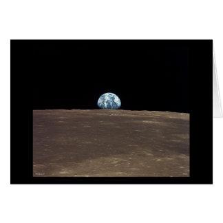 Earthrise - Apolo 11 Tarjetas