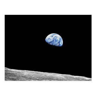 Earthrise - Apolo 8 Postales