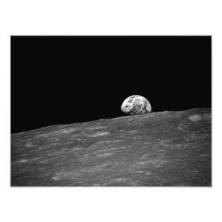 Earthrise de la misión de la luna de Apolo 8 Fotografías