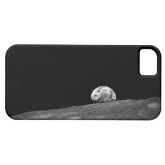 Earthrise de la misión de la luna de Apolo 8 iPhone 5 Case-Mate Carcasas