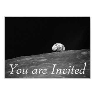 Earthrise from Apollo 8 Moon Mission Card