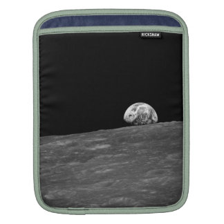 Earthrise from Apollo 8 Moon Mission iPad Sleeves