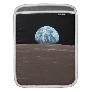 Earthrise from the Moon iPad Sleeve