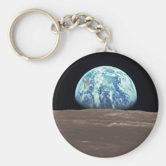 Earthrise from the Moon Keychain
