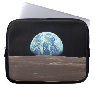 Earthrise from the Moon Laptop Sleeve