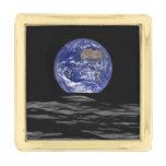 Earthrise Gold Finish Lapel Pin