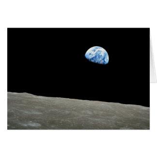 Earthrise Greeting Card