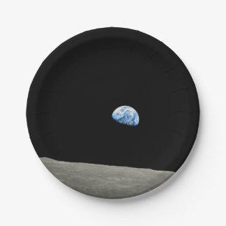 EARTHRISE.jpg 7 Inch Paper Plate