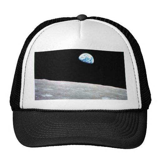Earthrise - la perspectiva lunar gorra