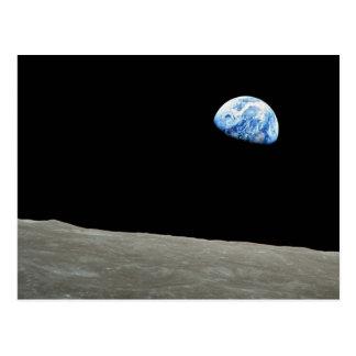 Earthrise Postcard