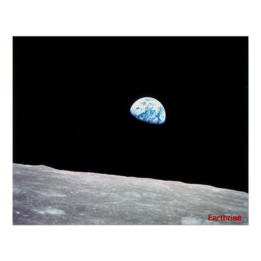 Earthrise Póster