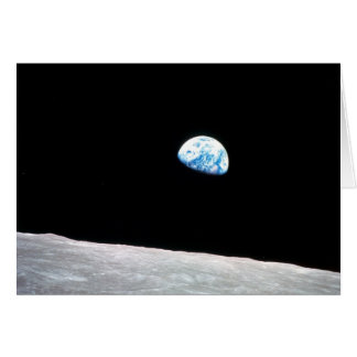 Earthrise: Shot from Apollo 8 Card