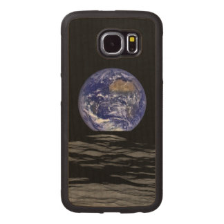 Earthrise SpaceHD Wood Phone Case