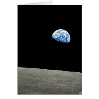 Earthrise Tarjeta De Felicitación