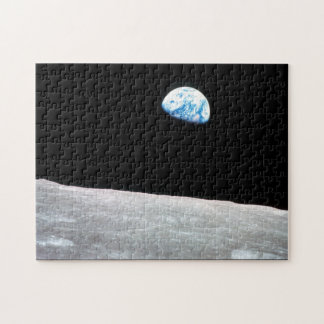 Earthrise - The Lunar Perspective Jigsaw Puzzle