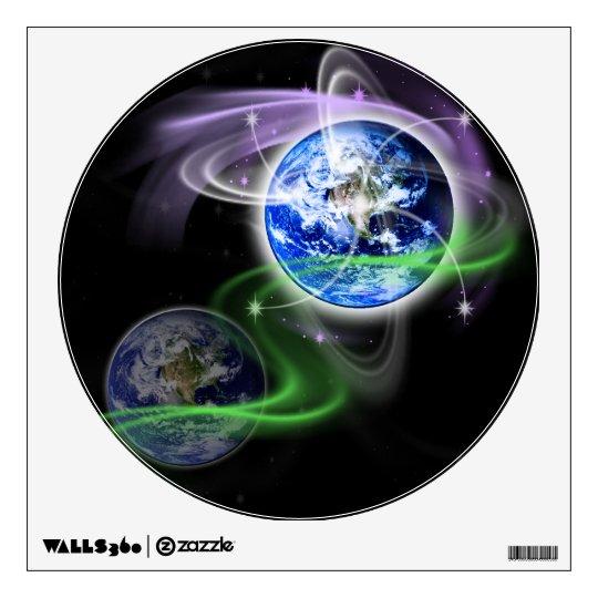 Earth's Ascension Wall Sticker
