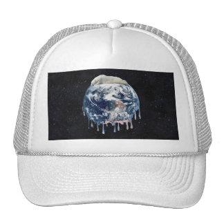 Earth's Bear Hug (Full Universe Background) Trucker Hats