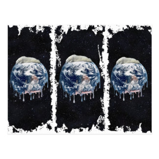 Earth's Bear Hug (Full Universe Background) Post Card