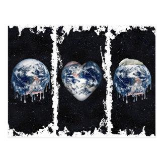 Earth's Bear Hug (Full Universe Background) Post Cards