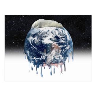Earth's Bear Hug (w/Half Universe Background) Post Card