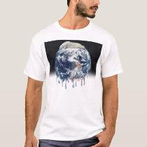 Earth's Bear Hug (w/Half Universe Background) T-Shirt