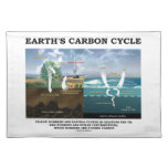 Earth's Carbon Cycle (Earth Science) Cloth Placemat