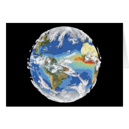 Earth's Climate Greeting Card