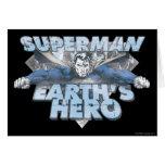 Earth's Hero - Blue Card