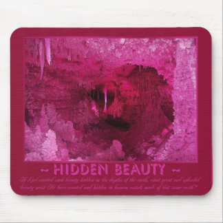 Earth's Hidden Beauty - In Pink Mouse Pad