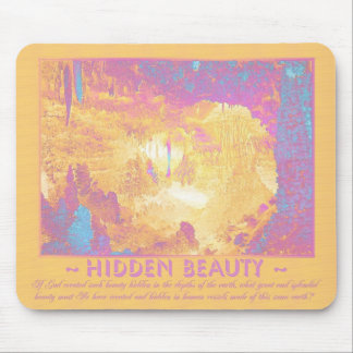 Earth's Hidden Beauty - Solarized Colorization Mouse Pad