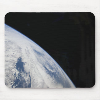 Earth's horizon and the blackness of space mouse pad