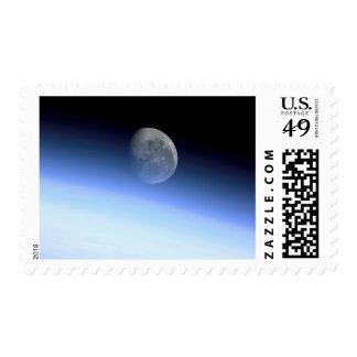 Earth's limb stamp
