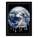 Earth's Meltdown Postcard