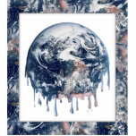 Earth's Meltdown (W/Earth Trim) Acrylic Cut Outs