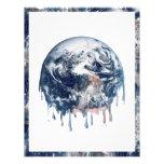 Earth's Meltdown (W/Earth Trim) Custom Flyer