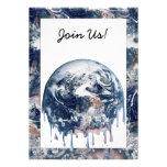 Earth's Meltdown (W/Earth Trim) Personalized Invites