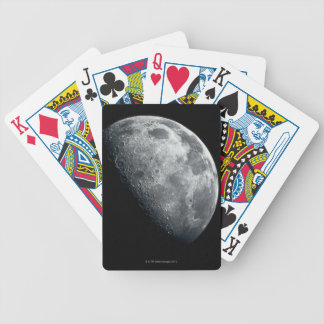 Earths Moon Bicycle Playing Cards
