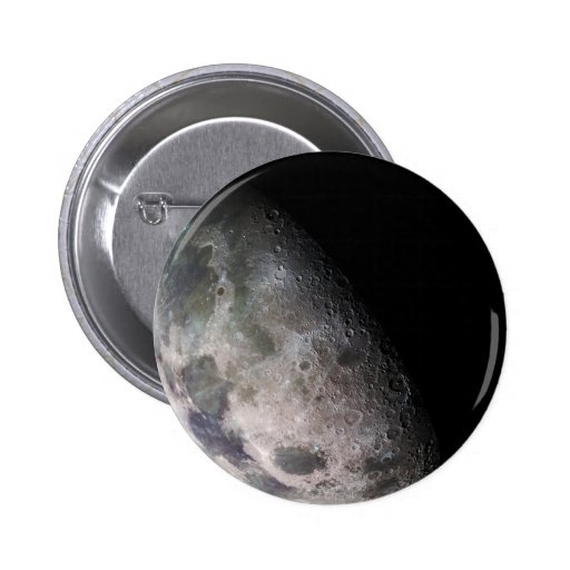 Earth's Moon Button