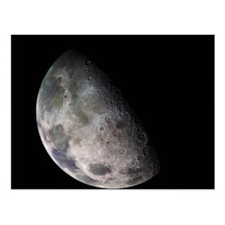 Earth's Moon Postcard