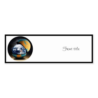 Earth's Protective Cover Business Card