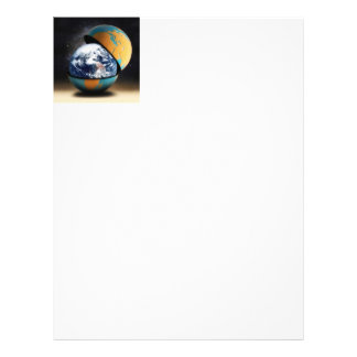 """Earth's Protective Cover 8.5"""" X 11"""" Flyer"""
