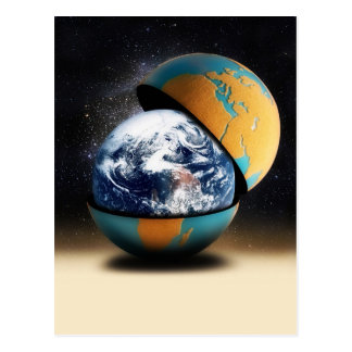 Earth's Protective Cover Postcard