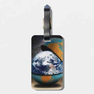 Earth's Protective Luggage Tags