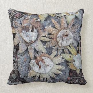 Earthstar Mushrooms Pillow