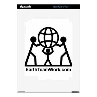 EarthTeamWork iPad 2 Skins